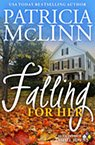 falling for her contemporary romance book by Patricia McLinn, romance author, mystery author, female sleuth