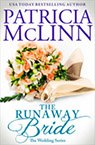 the runaway bride contemporary romance book by Patricia McLinn, romance author, mystery author, female sleuth