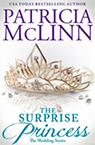the surprise princess contemporary romance book by Patricia McLinn, romance author, mystery author, female sleuth