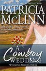 a cowboy wedding contemporary romance book by Patricia McLinn, romance author, mystery author, female sleuth