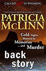 Back Story book by Patricia McLinn, romance author, mystery author, female sleuth, cozy mystery books, mystery with humor, amateur sleuth, women sleuths, dog mystery, mysteries