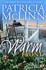 warm front contemporary romance book by Patricia McLinn, romance author, mystery author, female sleuth