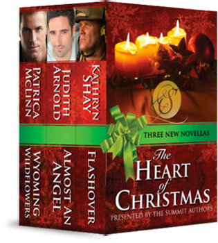 the heart of christmas boxed set patricia mclinn