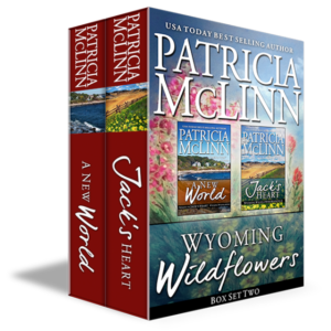 wyoming wildflowers boxed set, cowboy romance box set, prequel box set, contemporary romance boxed set, romance bundle, western romance bundle, patricia mclinn, amreading, romance collections