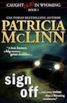 Sign Off by Patricia McLinn, cozy mystery books, mystery with humor, amateur sleuth, women sleuths, dog mystery, mysteries