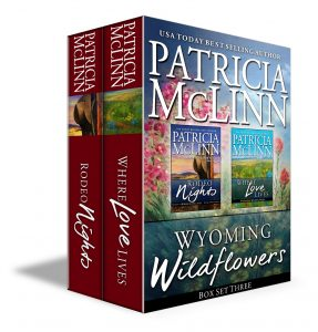 Wyoming Wildflowers series, box set, boxed set, prequel, romance series, Patricia McLinn, western romance, cowboy romance, rodeo romance, the inheritance collection