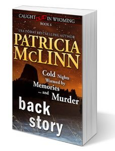 Patricia McLinn, Caught Dead in Wyoming, cozy mystery, murder mystery, mystery series, mystery with humor, amateur sleuth, female sleuth, women sleuths, American mystery, small town mystery, dog mystery, traditional mystery, mystery series, mystery with humor, tv reporter