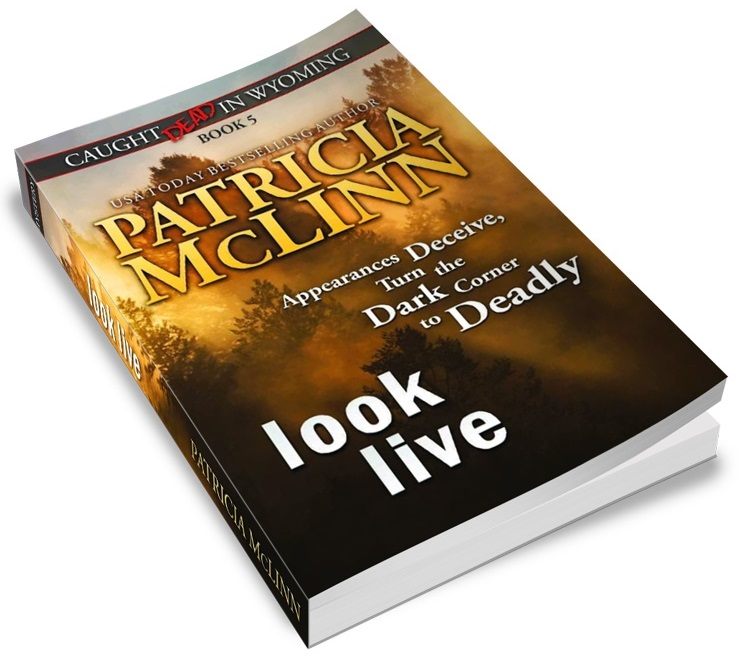 Patricia McLinn, Caught Dead in Wyoming, cozy mystery, amateur sleuth, female sleuth, women sleuths, dog mystery, mystery series, murder mystery, American mystery, traditional mystery, small town mystery, social media mystery, yellowstone,