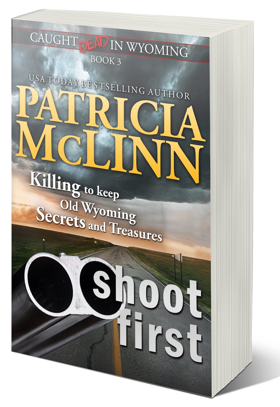 Patricia McLinn, Caught Dead in Wyoming, cozy mystery series, amateur sleuth, women sleuths, female sleuth, murder mystery, mystery series, dog mystery, small town mystery, American mystery, Wyoming, cowboy, romantic suspense