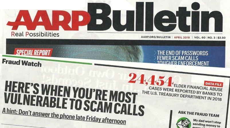 aarp bulletin consumer scam tips