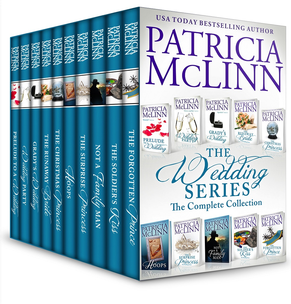 The Wedding Series, Patricia McLinn, contemporary romance, college friends, friends and lovers, brides, marriage, women's fiction, boxed set, collections