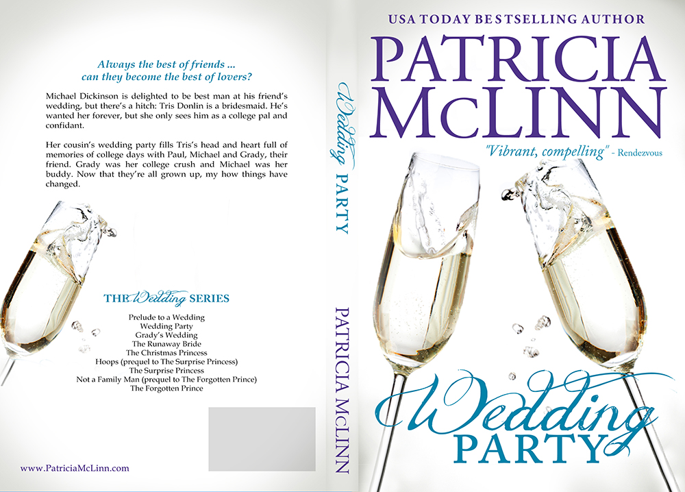 Wedding Party, The Wedding Serries, romance collection, friends to lovers, Patricia McLinn, romantic comedy