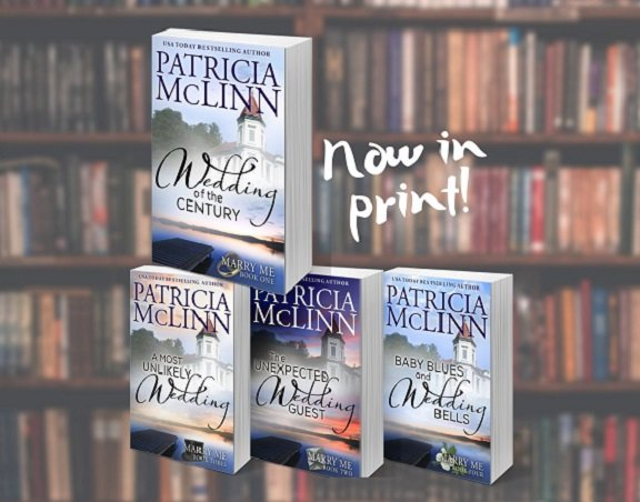 Patricia McLinn, Marry Me constemporary romance series, small-town Wisconsin, second chance at love, bad boy rescue hero, friends to lovers, rural Wisconsin