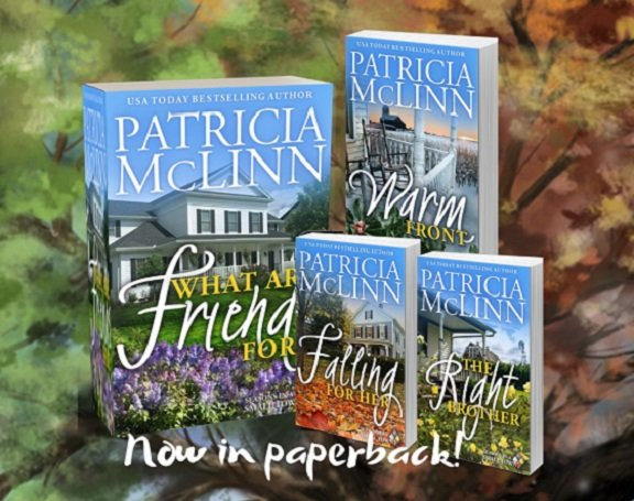 Patricia McLinn, Seasons in a Small Town romance series, paperback, print, rural Illinois farm community, tech billionaire