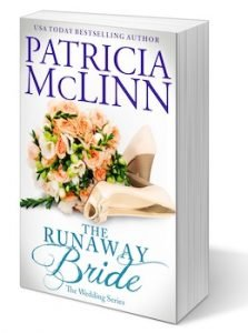 The Runaway Bride, Patricia McLinn, The Wedding Series, city girl and cowboy, opposites attract, romance with suspense, romance series, romance collection