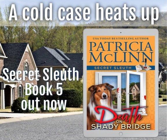 death on shady bridge patricia mclinn cozy mystery
