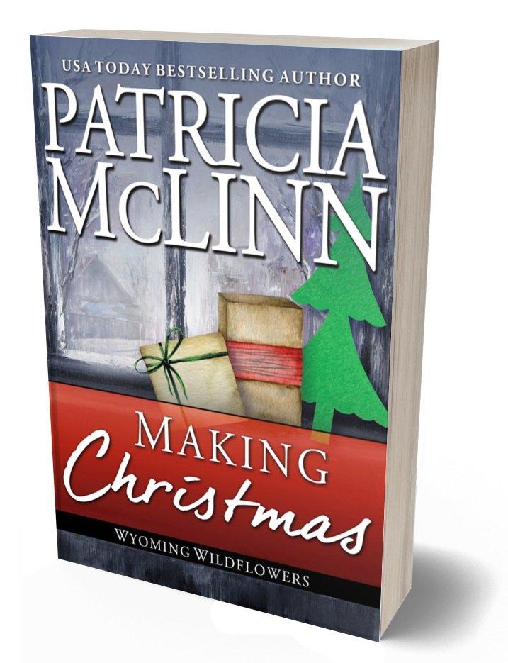 Wyoming Wildflowers Series paperback print Patricia McLinn romance collection holiday noel secret santa DIY crafts gifts