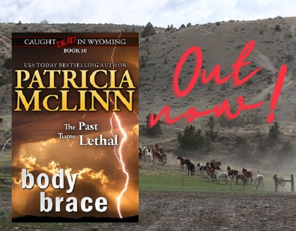 Caught Dead in Wyoming cozy mystery small-town crime murder Patricia McLinn series collection