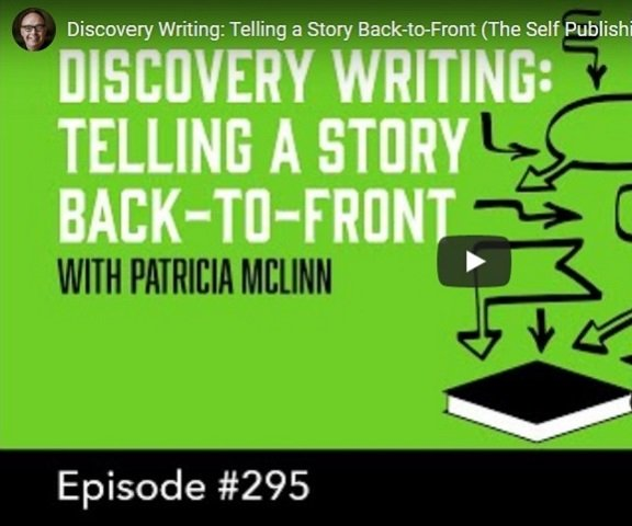 podcast Patricia McLinn Discovery Writing pantser or plotter writing life author career independent indie publishing Mark Dawson James Blatch podcast interview guest